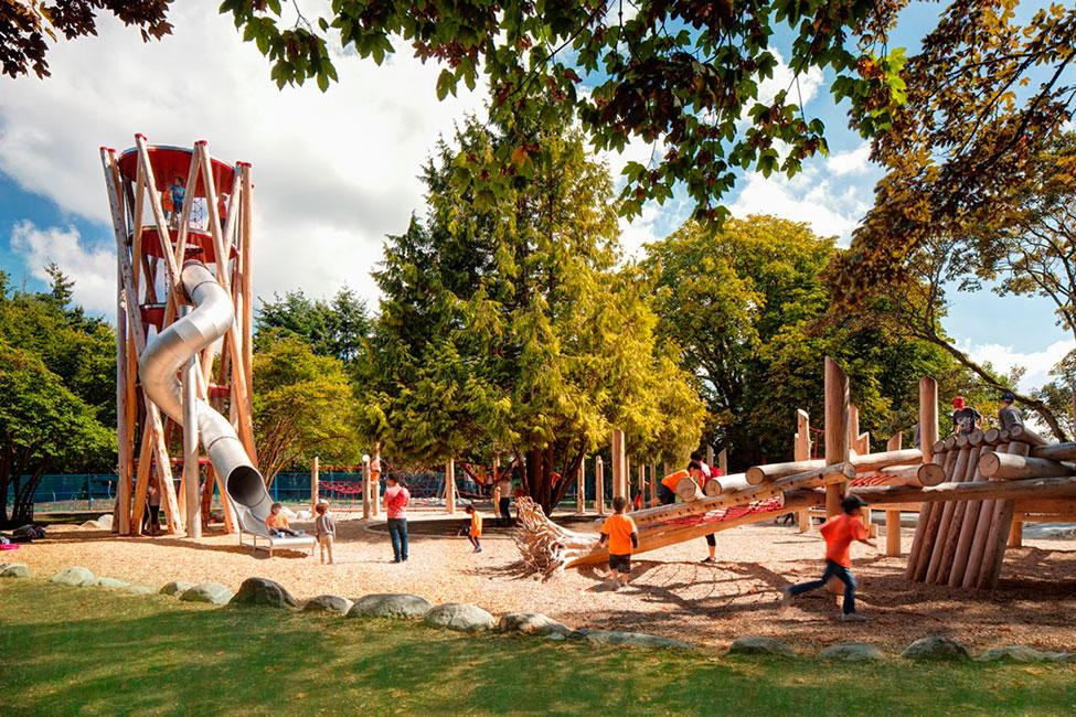加拿大里士满儿童活动区 Terra Nova Play Experience by Hapa Collaborative