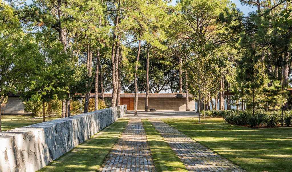 松溪湖岸住宅2015 ASLA住宅设计杰出奖 Cedar Creek by Hocker Design Group