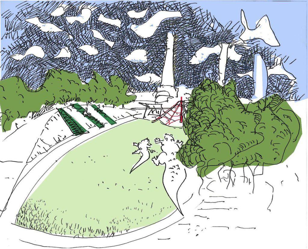 Sydney Park Stage 1 by JMD design