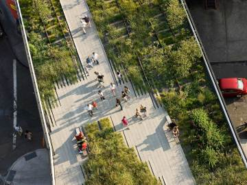 The high line new york by James Corner Field Operations