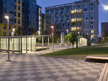 UC Berkeley Residence Halls & Bike Sheds by GLS