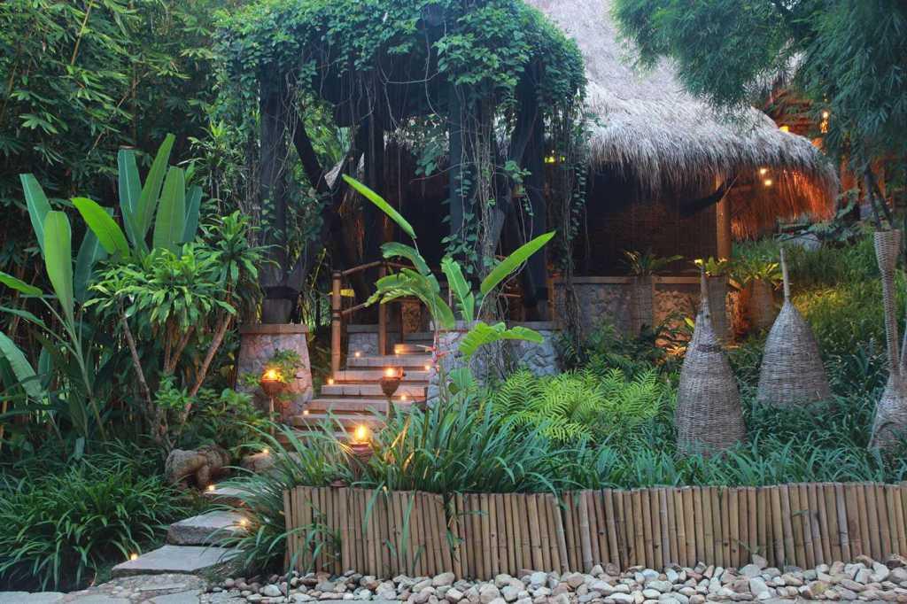 four seasons tented camp at chiang rai,thailand