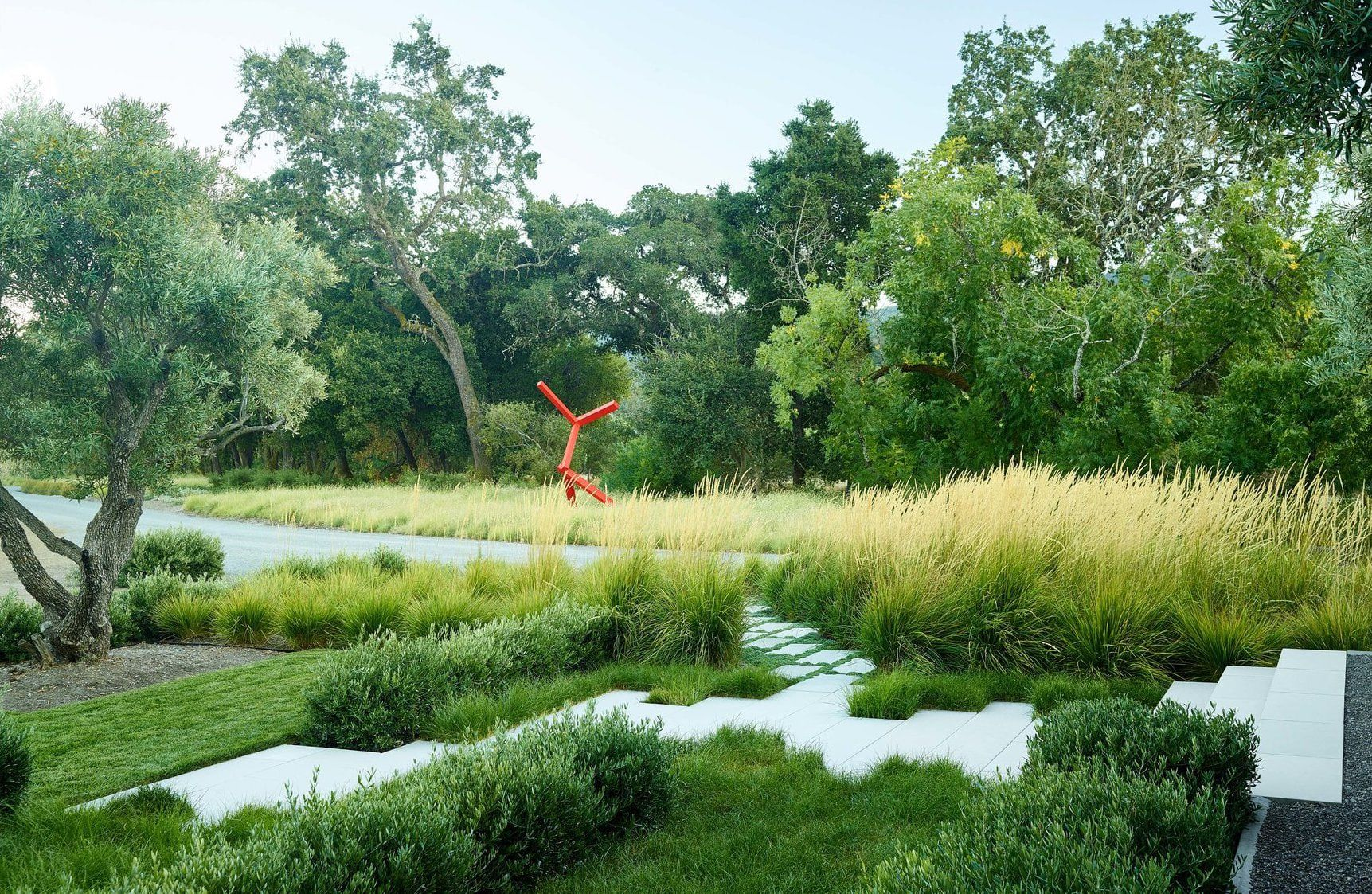 Home In Rutherford By Andrea Cochran Landscape Architecture Mooool