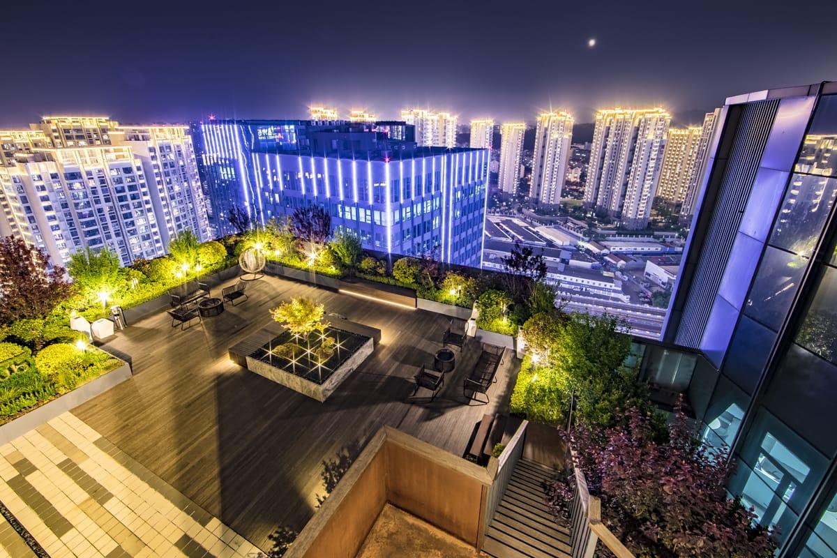 万科屋顶花园 Vanke Roof Garden 奥雅l Amp A Mooool木藕设计网