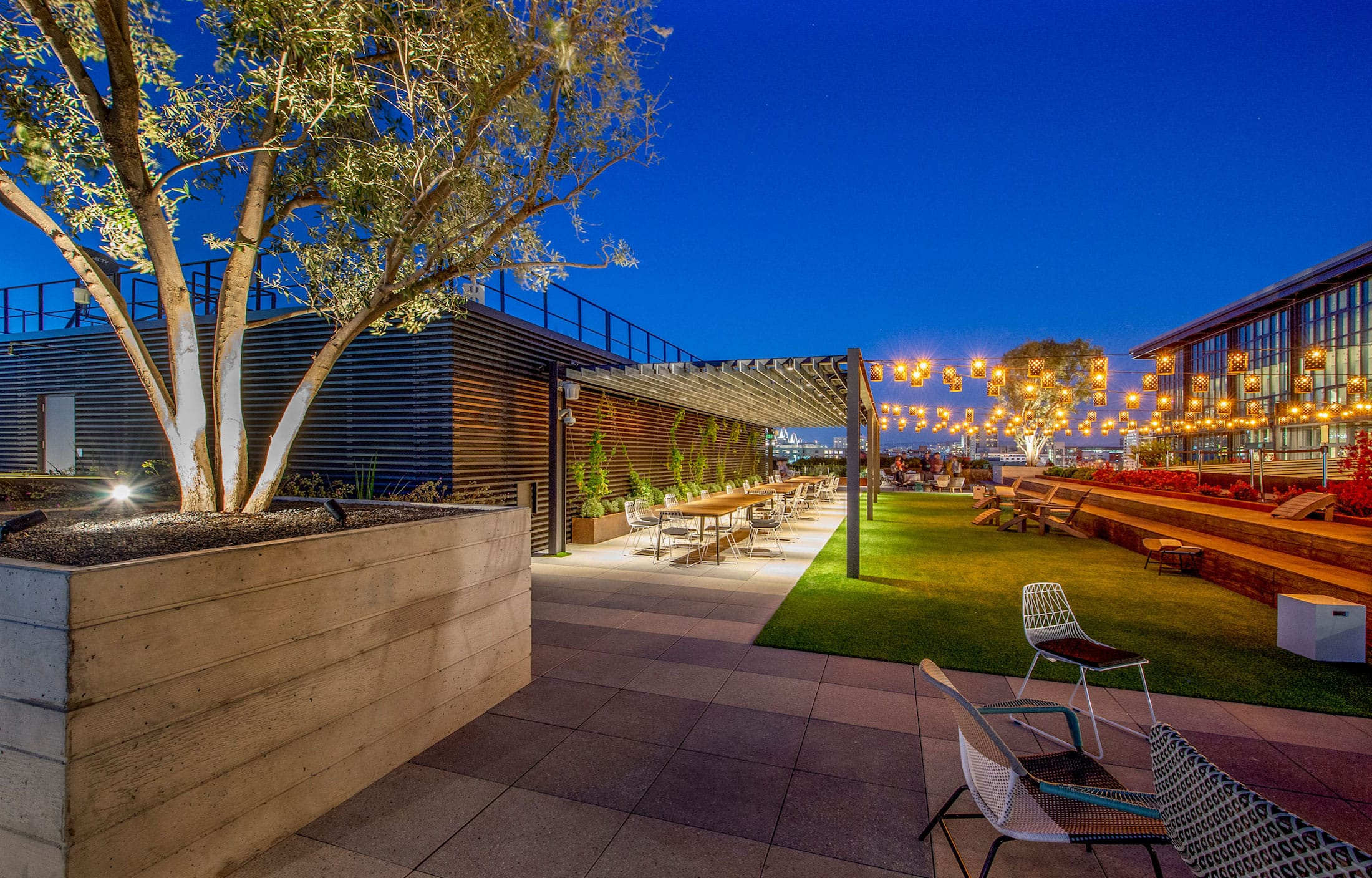亚历山大屋顶花园 Fletcher Studio Mooool木藕设计网