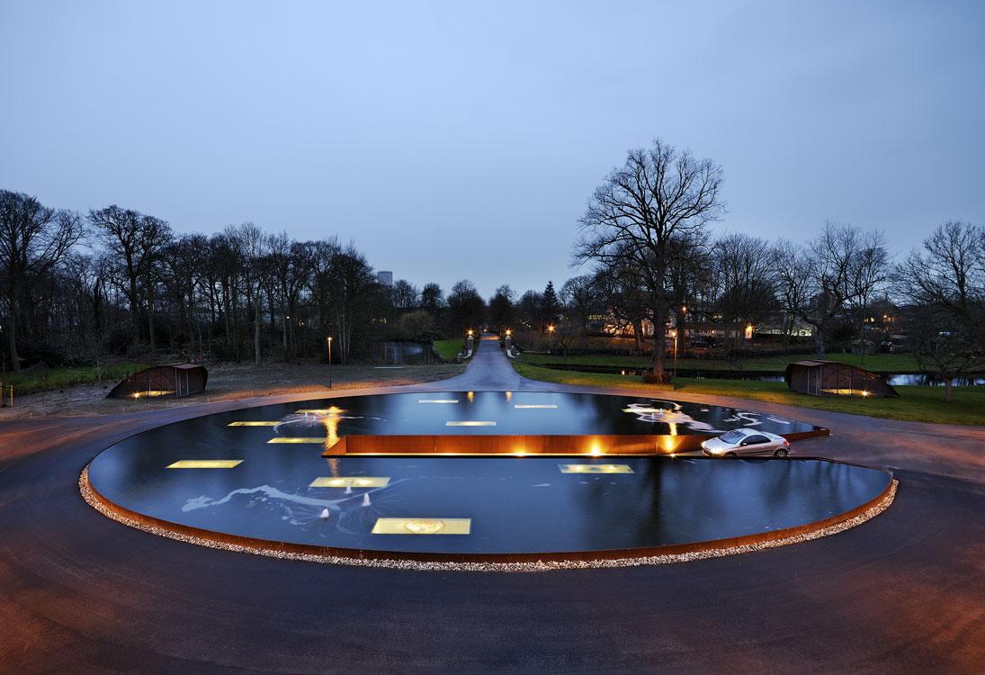 Hageveld庄园交通景观Hageveld Estate by HOSPER