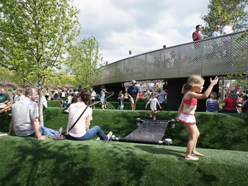 Cumberland Park by Hargreaves Associate