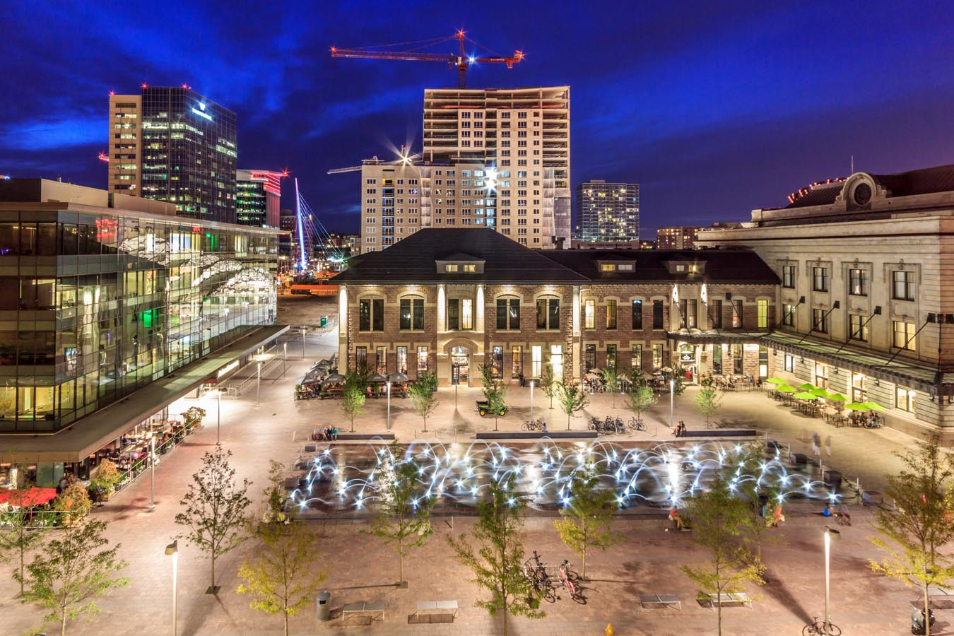 Denver Union Station by Hargreaves Associate