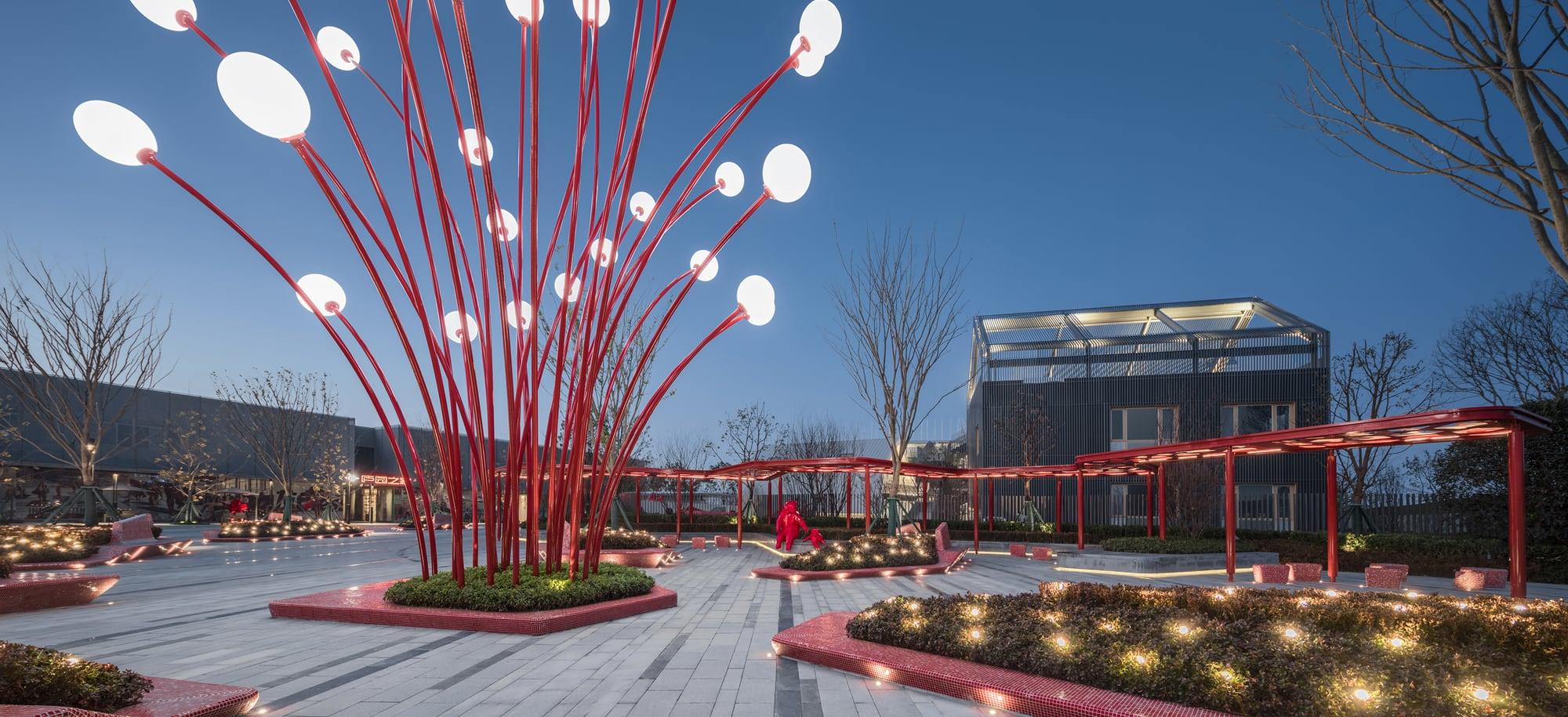 Hefei Wantou & Vanke Paradise Art Wonderland Phase1 by ASPECT Studios