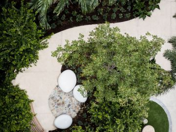Sensory arts garden els center of excellence by Dirtworks